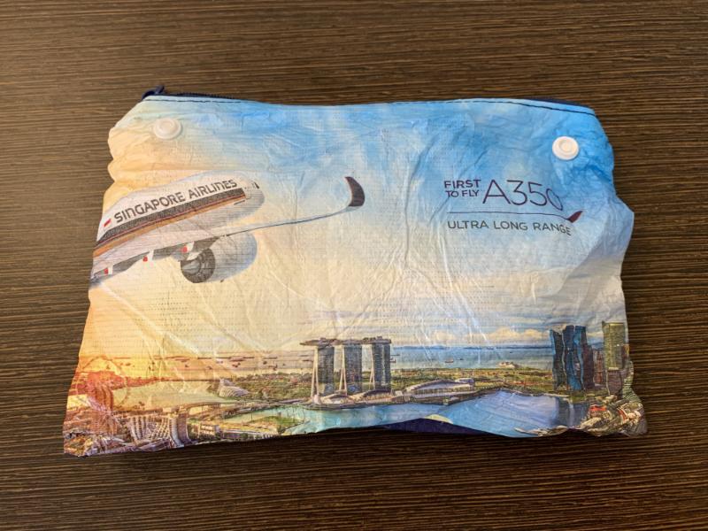 シンガポール航空アメニティ