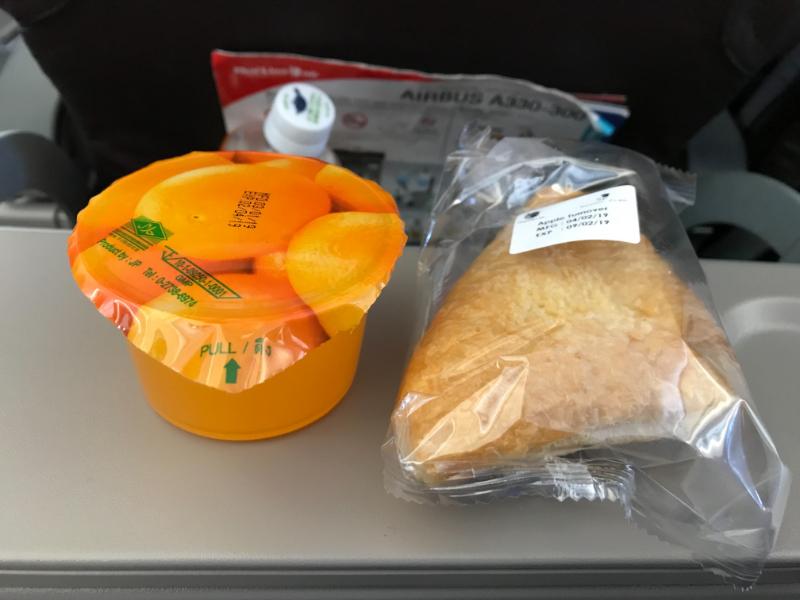 タイ・ライオンエア機内食