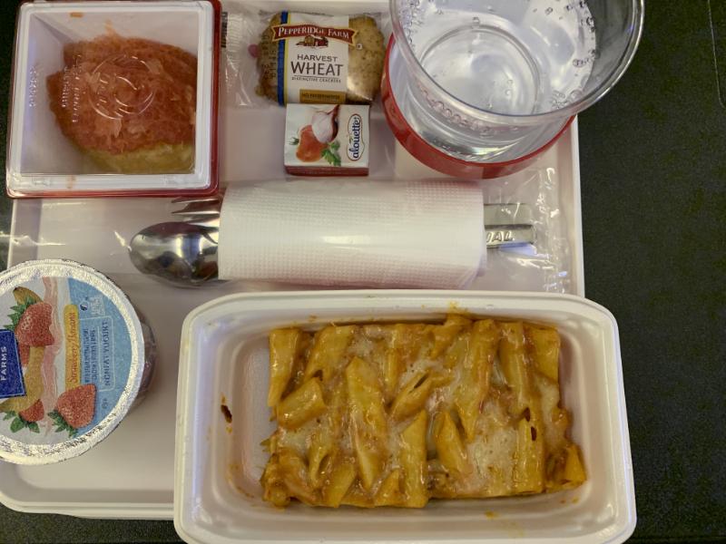 JL003プレミアムエコノミークラス機内食