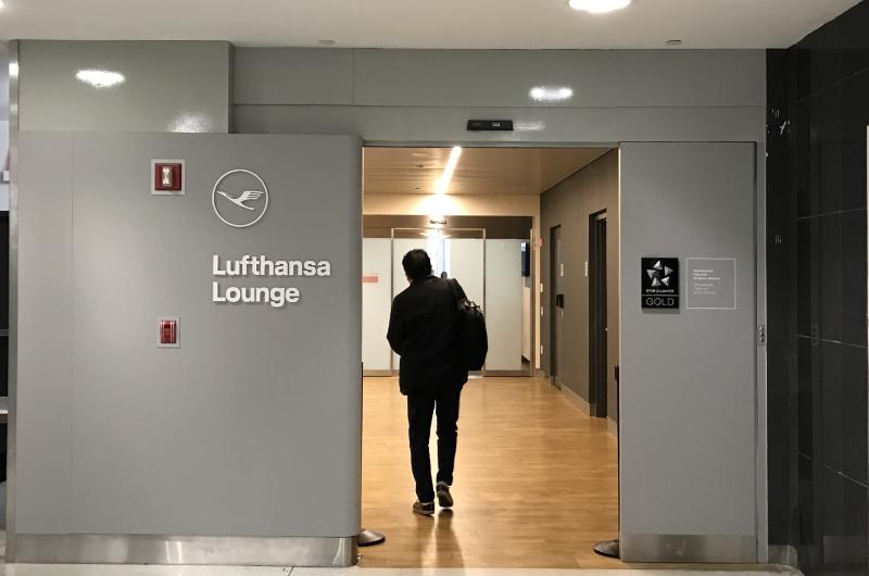 ルフトハンザ入口