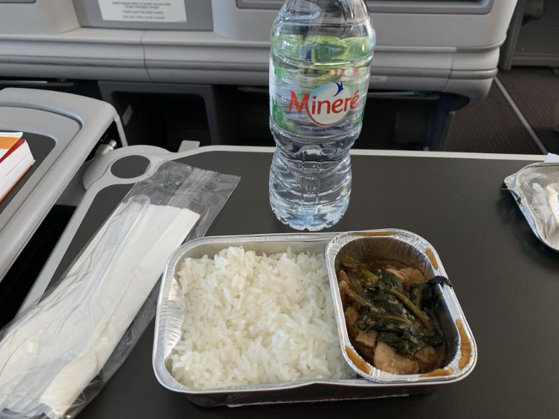 タイライオンエア機内食