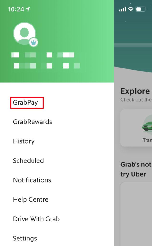 Grabクレジットカード登録