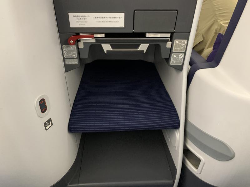 NH860ビジネスクラス座席