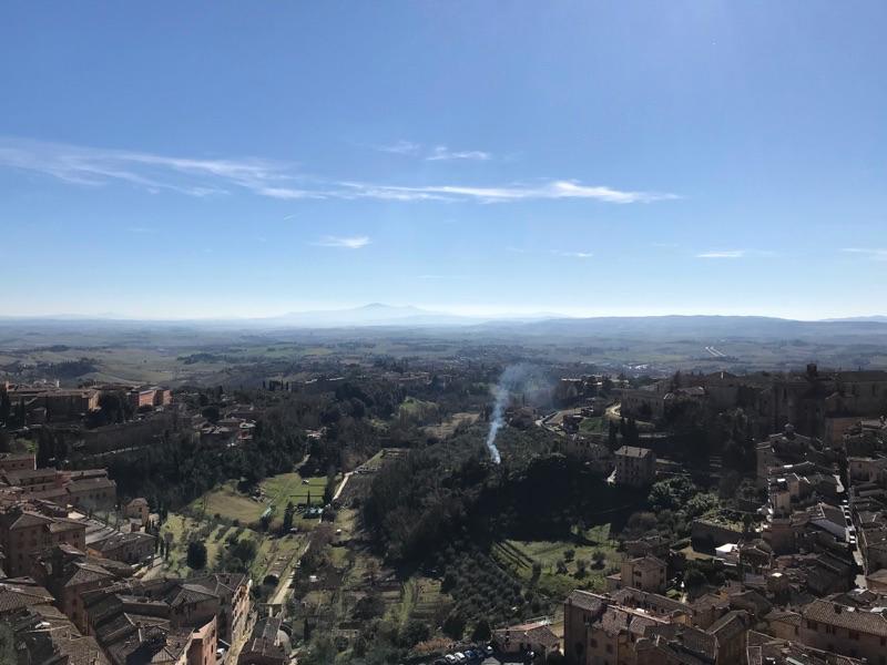 マンジャの塔からの景色