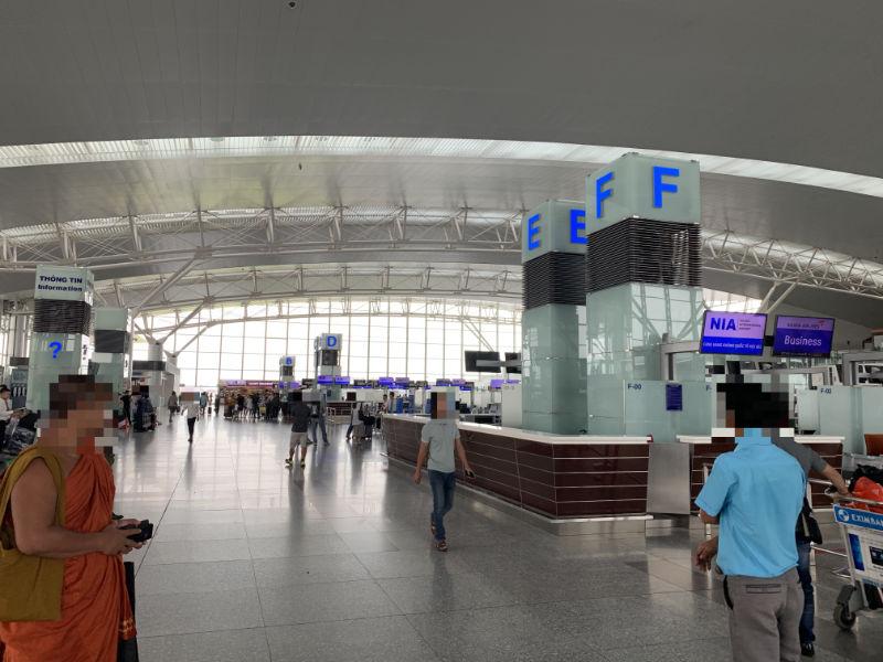 ノイバイ国際空港出国