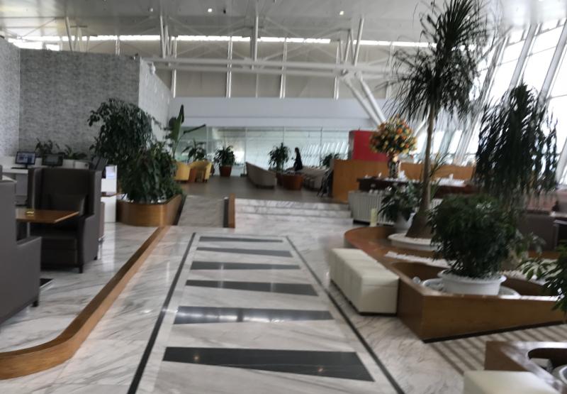 ノイバイ国際空港ビジネスラウンジ
