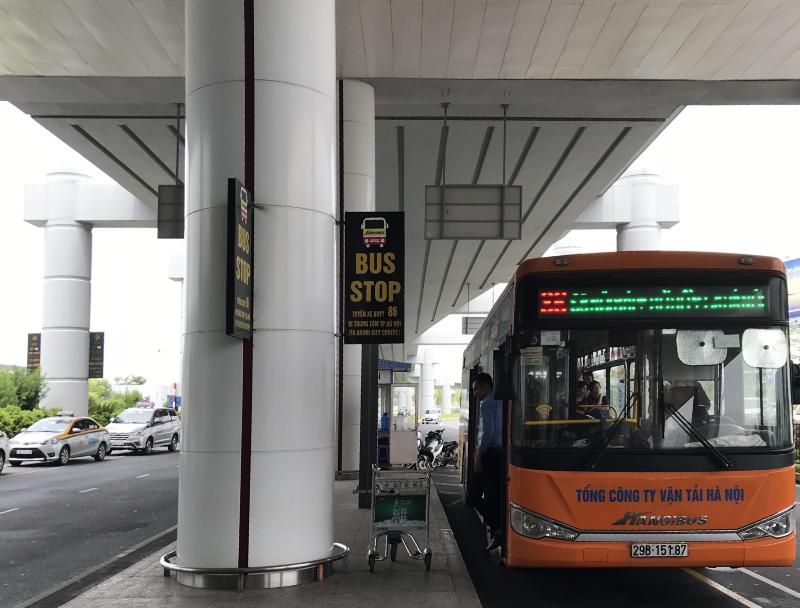 ノイバイ国際空港バス乗場