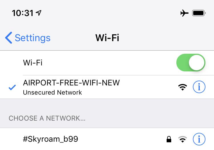 北京首都国際空港Wifi