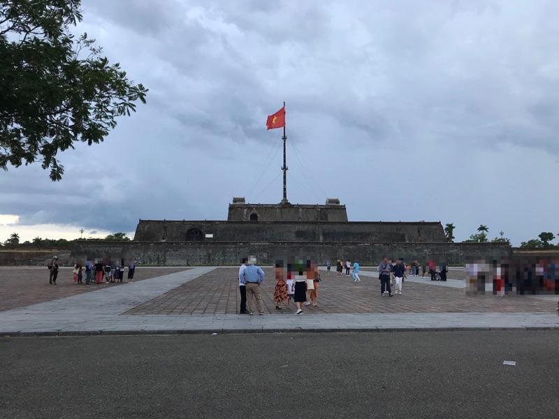 グエン朝王宮 フラッグ・タワー