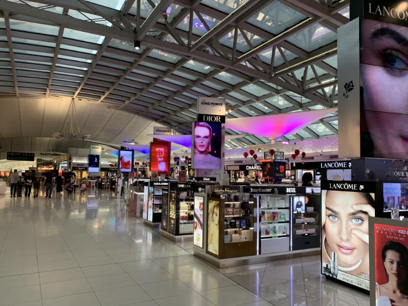 スワンナプーム国際空港DutyFree