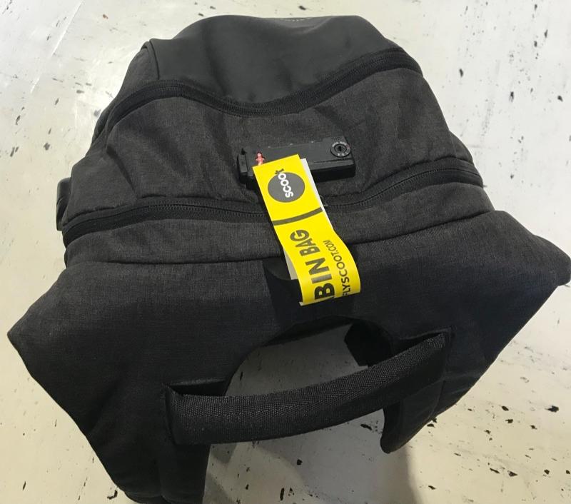スクート 機内持ち込み手荷物につけるタグ