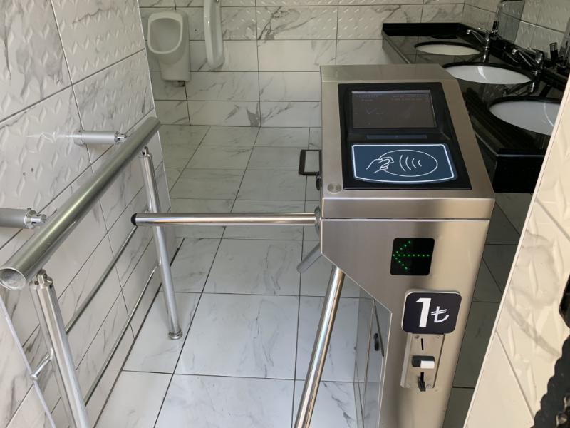 イスタンブール公衆トイレ