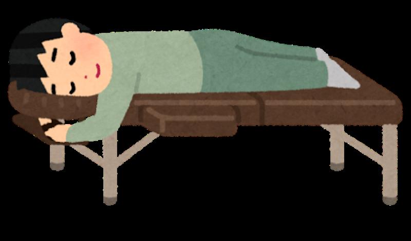 寝てる画像