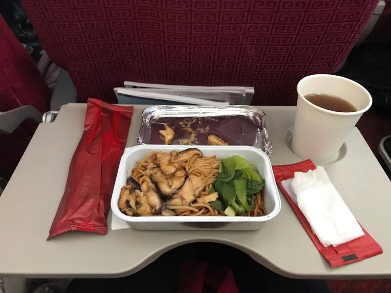 海南航空 機内食