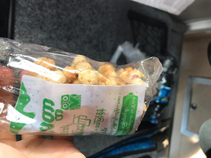 ミャンマーのお菓子