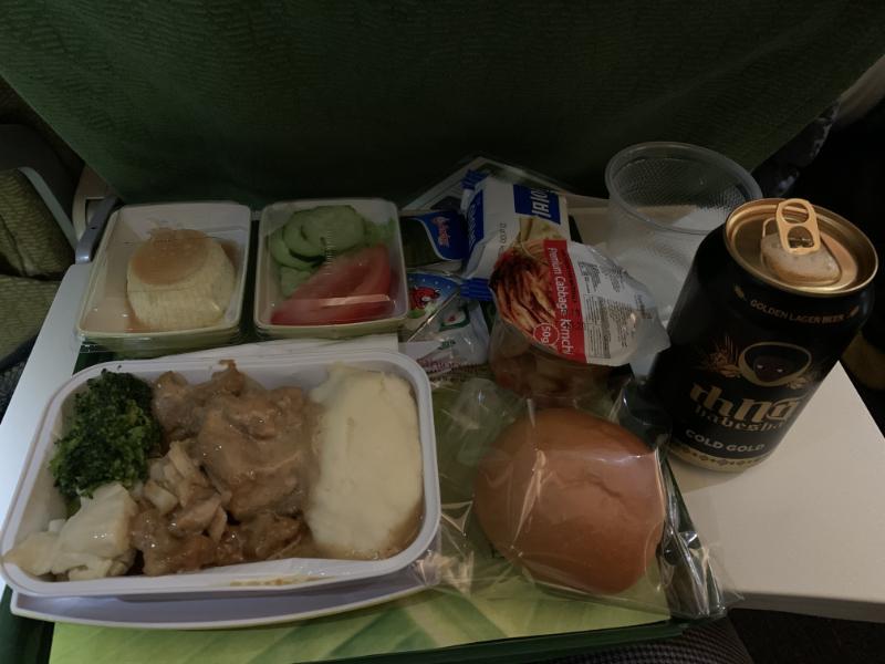 エチオピア航空機内食