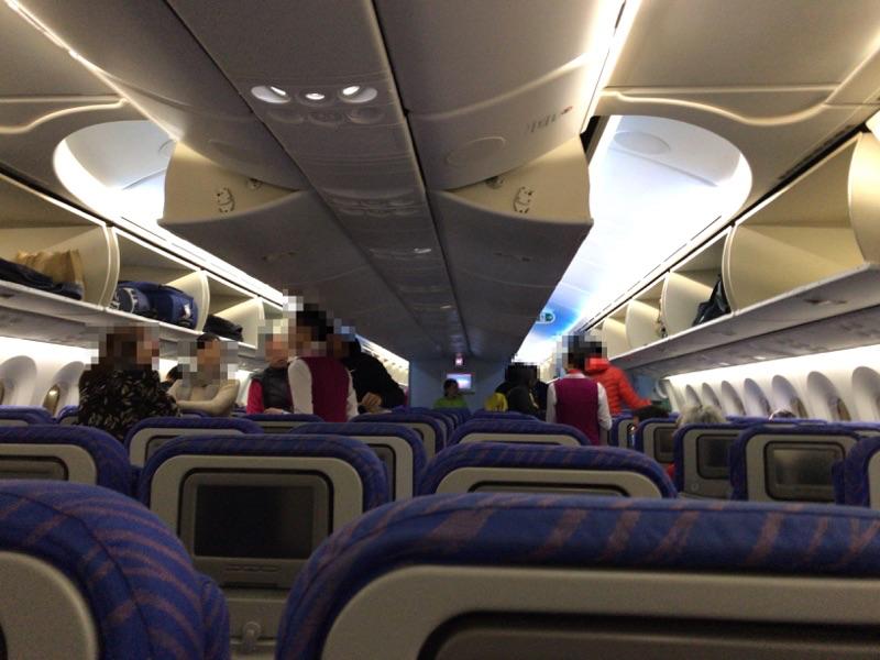 中国南方航空 機内