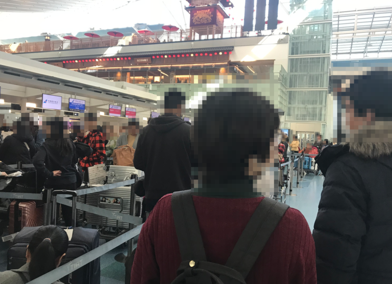 中国南方航空 羽田空港 チェックインカウンター