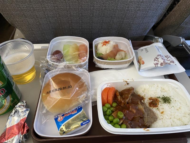 中国東方航空 機内食