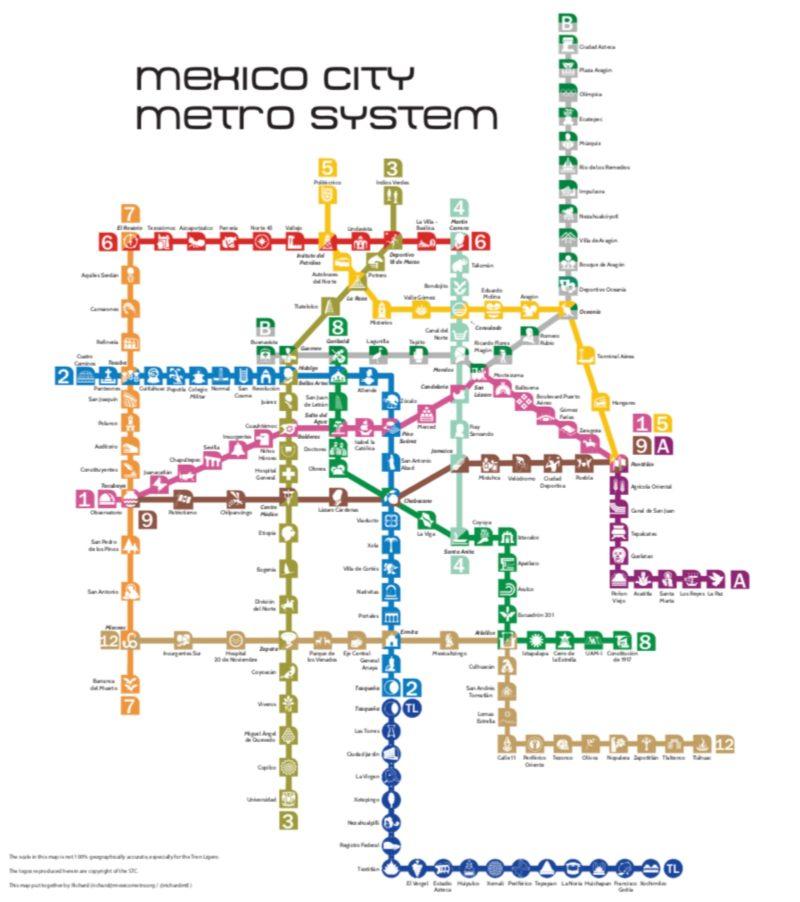 メキシコシティ メトロ