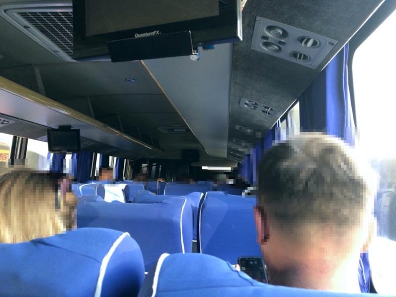 テオティワカン バス