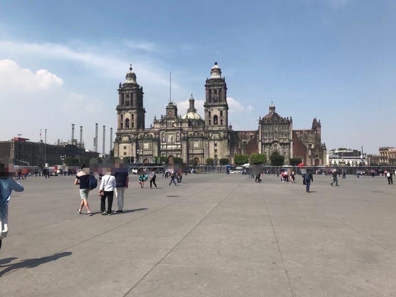 メキシコシティ ソカロ