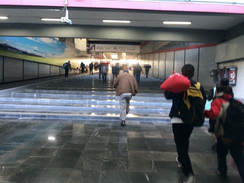 メキシコシティ 東バスターミナル